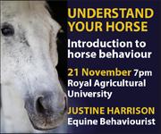 Justine Harrison Talk RAU (South Wales Horse)